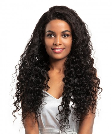 CARA 150% Density Loose Wave Pre Plucked 360 Lace Wigs Brazilian Lace Human Hair Wigs