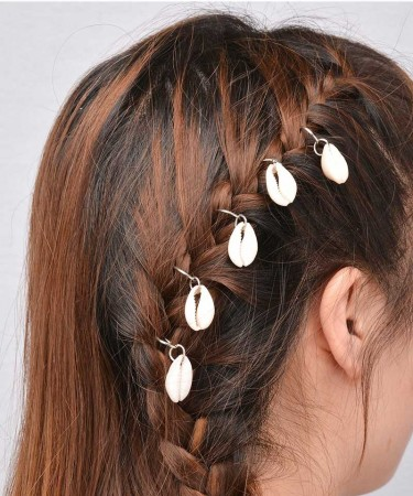5Pcs/Lot European and American personality leisure hair decoration tourism street, braid DIY.