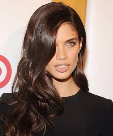 CARA Body Wave 250% High Density Lace Front Human Hair Wigs Medium Brown