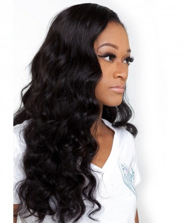 CARA Loose Wave Lace Front Human Hair Wigs 250% Density Wigs Pre Plucked