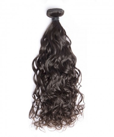 CARA Brazilian Virgin Hair 1 Piece Water Wave Bundles Cutile Kept Remy Hair Weaves