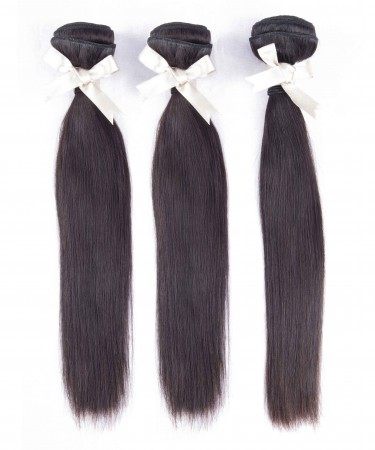 CARA Peruvian Virgin Hair Weave Bundles Straight Human Hair Bundles