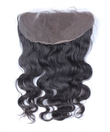 CARA Brazilian Body Wave Virgin Hair 13x6 Lace Frontal Closure Bleached Knots