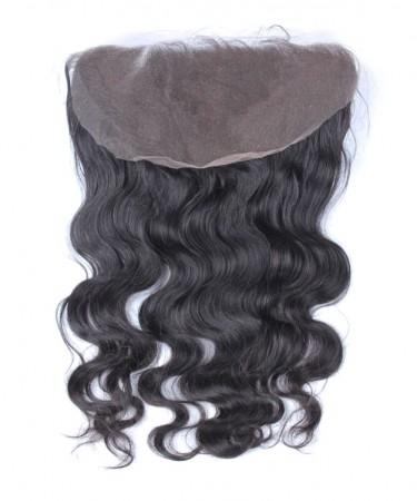 CARA Brazilian Body Wave Virgin Hair 13x6 Lace Frontal Closure Bleached Knots