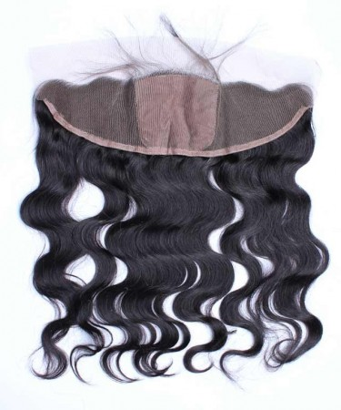 CARA Body Wave 13x4 Lace Frontal Closure With 4x4 Silk Base Natural Scalp