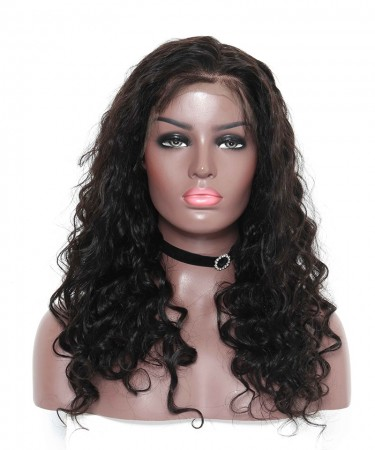 Brazilian Loose Wave Lace Front Human Hair Wigs 300% Density Lace Wigs