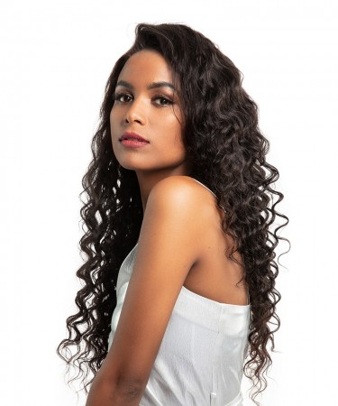 CARA SALE! Lace Front Wigs Loose Wave 120% Density Pre-Plucked Natural Hairline 18 inches
