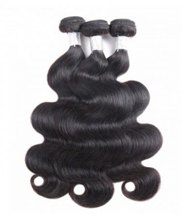 CARA Brazilian Virgin Hair Body Wave 3Pcs 100% Unprocessed Human Hair Weave