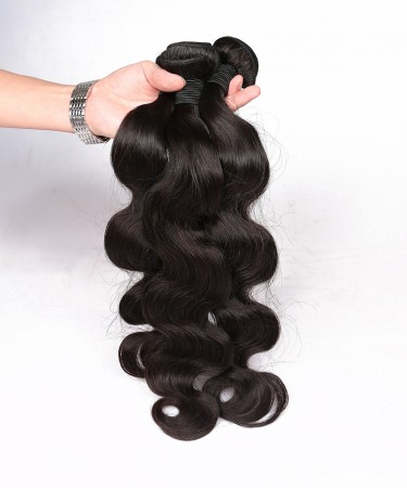 CARA Brazilian Virgin Hair Body Wave 2 Pcs 100% Unprocessed Human Hair Bundles
