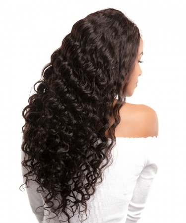 CARA Loose Wave 100% Unprocessed Hair Extensions 3Pcs Brazilian Human Hair Weave Bundles