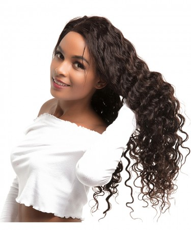 CARA 1 Piece Loose Wave  100% Unprocessed Human Hair Weave Bundles