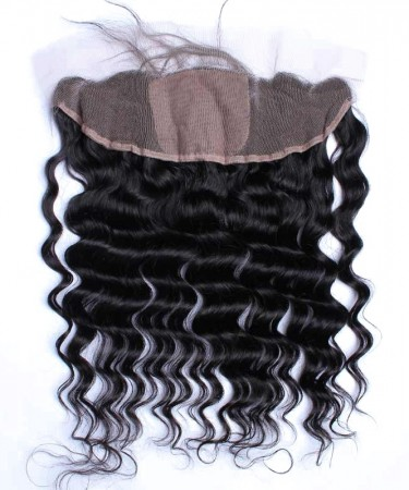 CARA Loose Wave 13x4 Lace Frontal Closure With 4x4 Silk Base