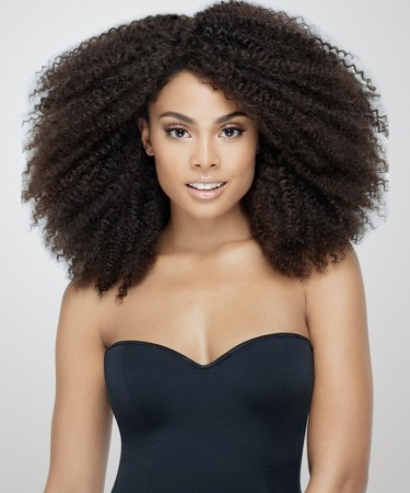 CARA 360 Lace Frontal Wig Brazilian Afro Kinky Curly 150% Density Lace Front Human Hair Wigs