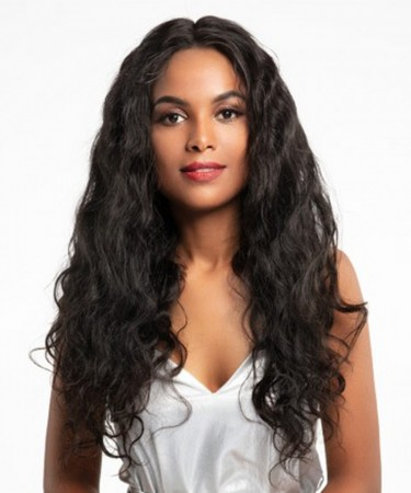 CARA 150% Density Body Wave 360 Lace Frontal Wigs For Black Women Pre Plucked Hairline Lace Wig