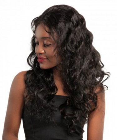 CARA Body Wave 360 Lace Frontal Wigs For Black Women Pre Plucked Lace Wig 180% Densit