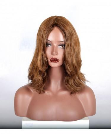CARA European Virgin Hair Slight Wave Jewish Wig Sheitels Kosher Wig Free Shipping