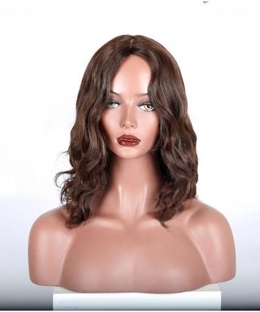 CARA Jewish Wigs Natural Wave Brown Color