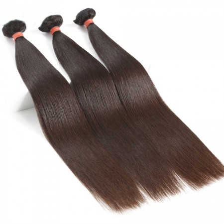 CARA Malaysian Virgin Hair Natural Color Straight Hair 100% Human Hair Bundles