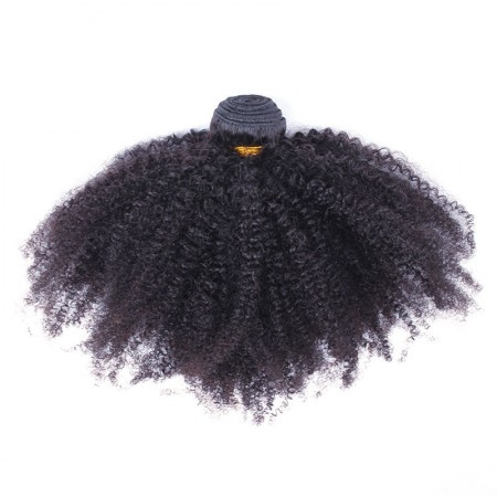 Msbuy Malaysian Afro Kinky Curly Virgin Hair Bundles 100% Human Natural Hair Weave 3Pieces