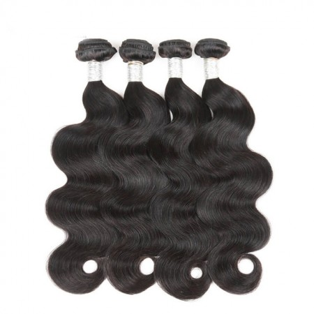 CARA Unprocessed Human Hair Weave Brazilian Virgin Hair Body Wave 4 Pcs