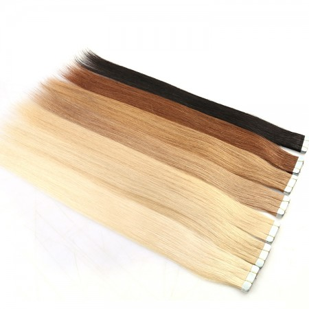 CARA Double Drawn Russian Human Hair Invisible Remy Cuticle Tape Hair Extensions