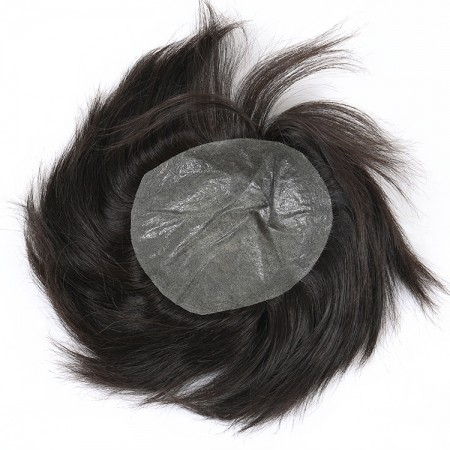 CARA Unprocessed Brazilian Hair Replacement Soft Material Men Wig