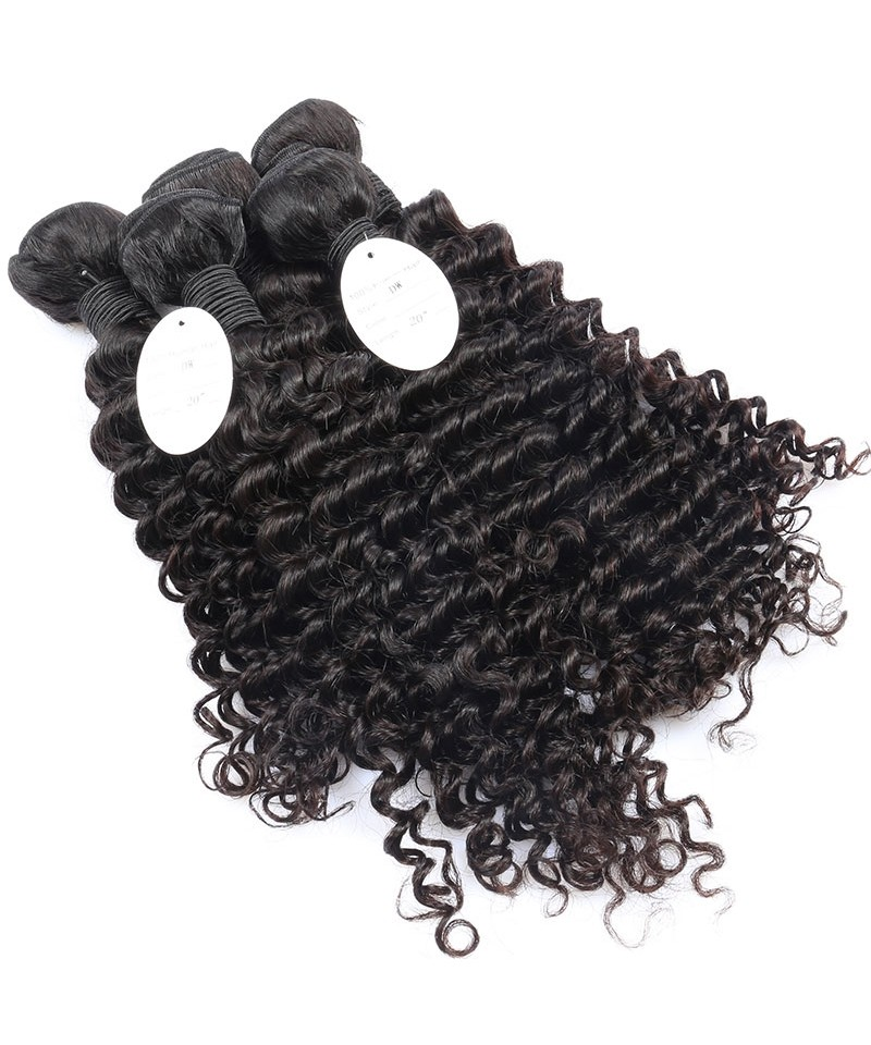 Cara 2 Bundles Brazilian Virgin Hair Deep Wave Unprocessed Human