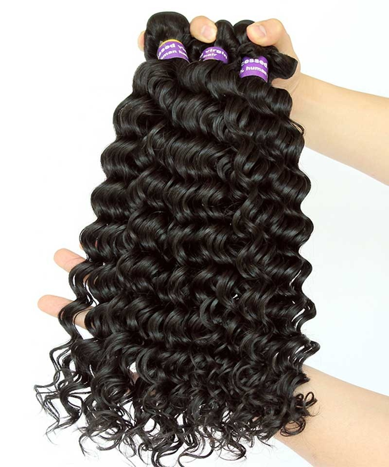 Cara Brazilian Body Wave Virgin Human Hair Weave 3 Bundles