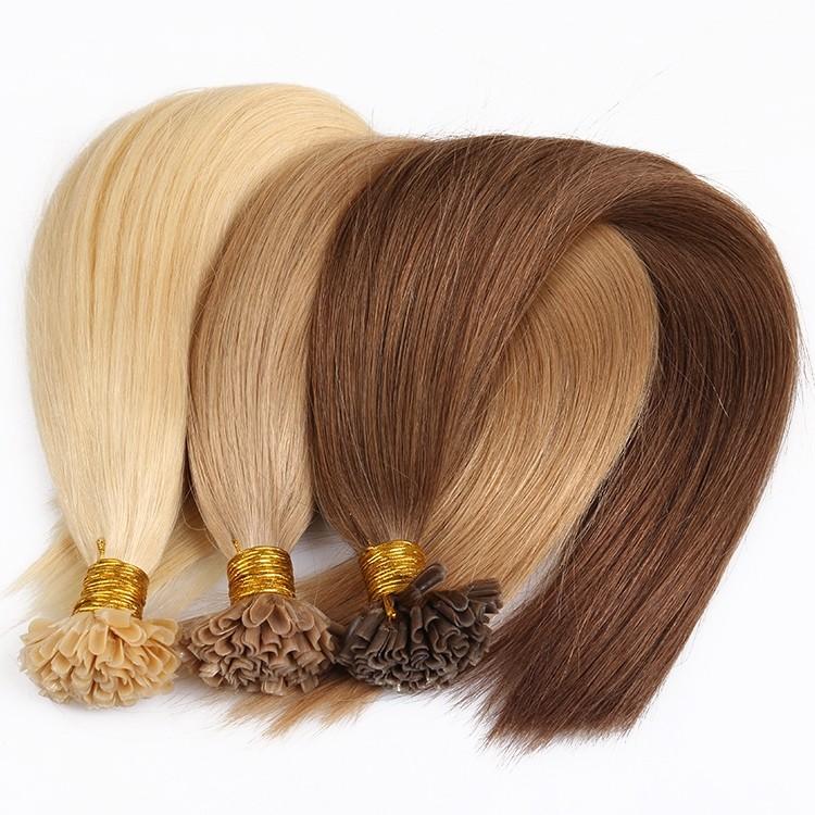 Cara Keratin Fusion Hair Extensions Remy Cuticles Nail U Tip Hair