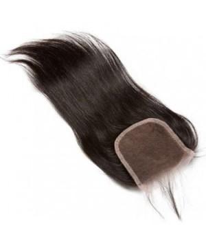 CARA Brazilian Virgin Hair Silky Straight Lace Closure 4x4