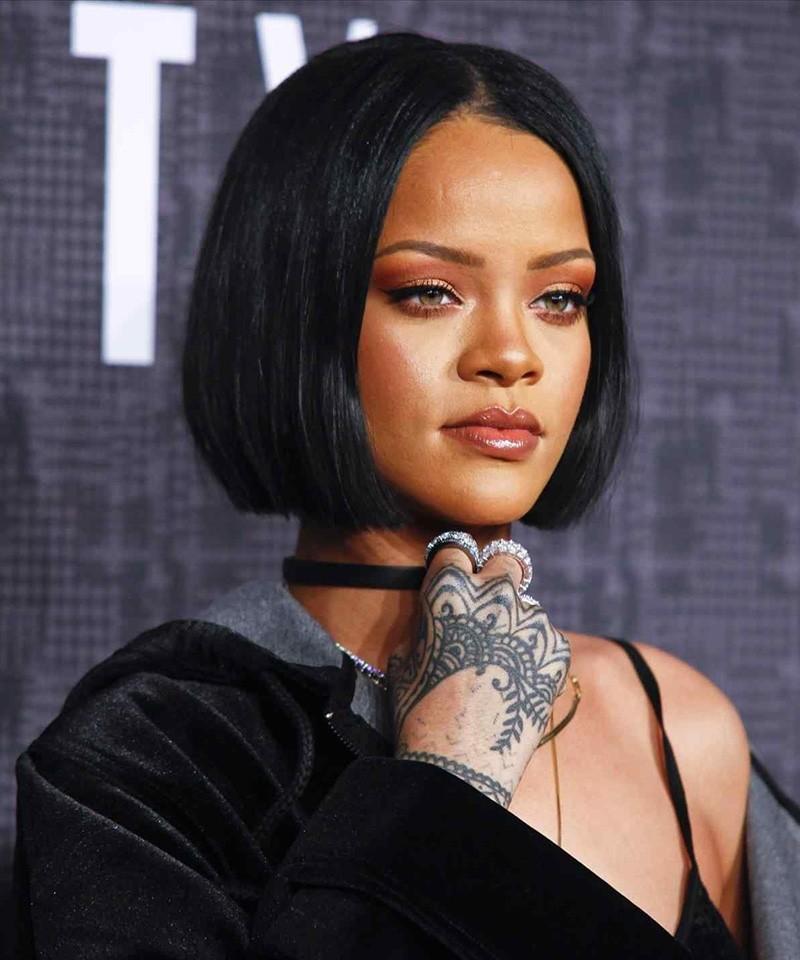 Cara Rihanna Bob Thick Hair Style Short Human Hair Wigs For Women Carahair Com