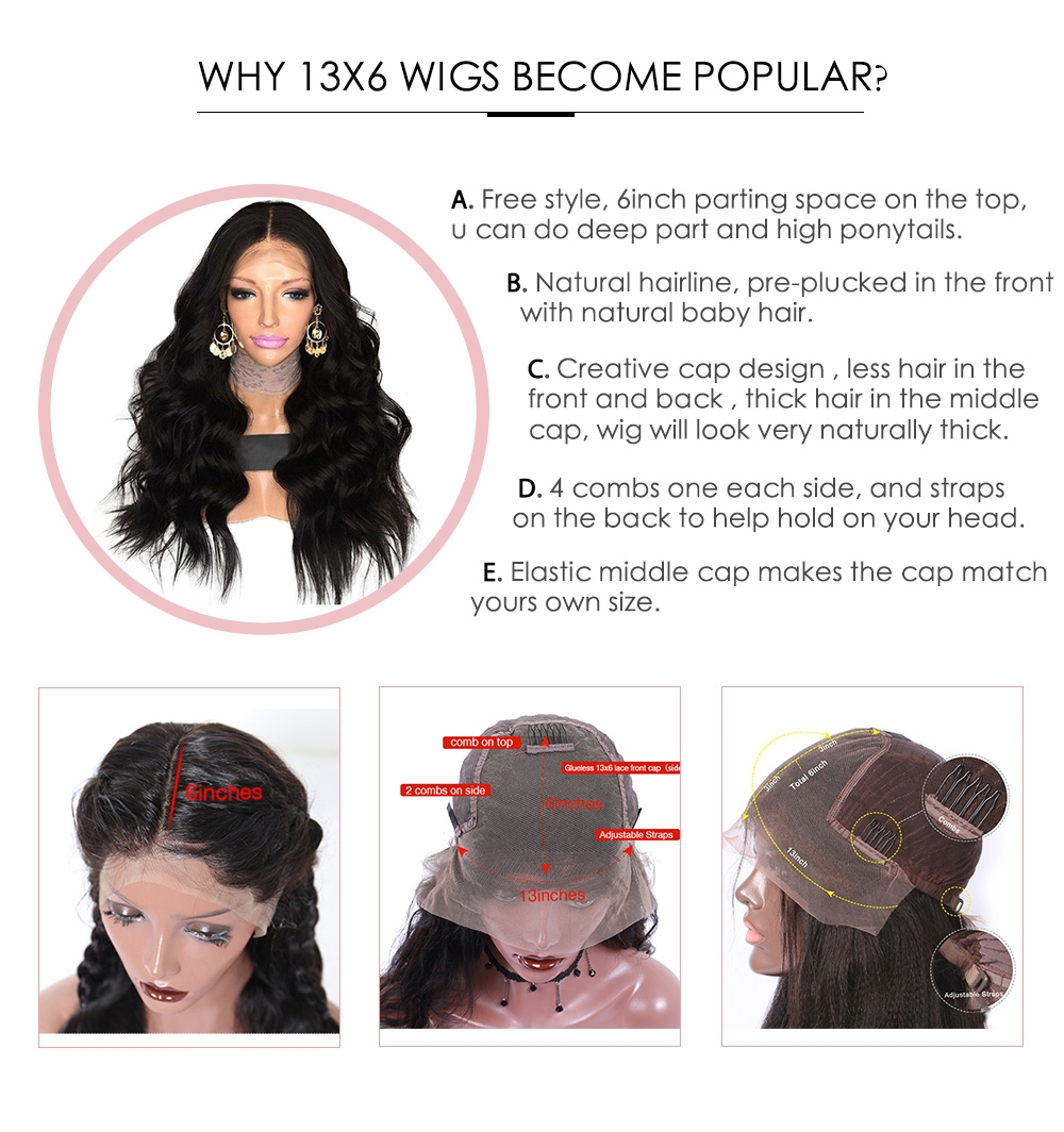 why choose 13x6 lace wig